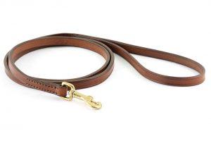Guinzaglio da 150 cm largo 12 mm adatto a cani di taglia piccola e media.